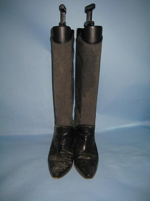 ブーツのカビ